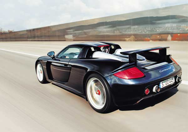 2007 porsche carrera gt fiche technique et informations. Black Bedroom Furniture Sets. Home Design Ideas